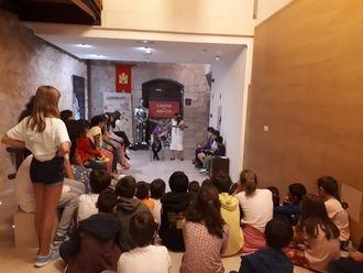 Casi 100 escolares participan en las primeras 'Noches mágicas' del castillo de Torija