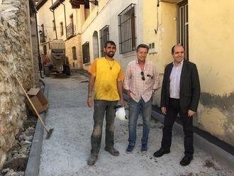 La Diputación destina más de 300.000 euros para seguir mejorando las infraestructuras de los pueblos