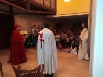 Los templarios volvieron a protagonizar las exitosas visitas nocturnas al castillo de Torija