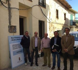 La Diputación ayuda al municipio de Tortuero a reformar un edificio municipal