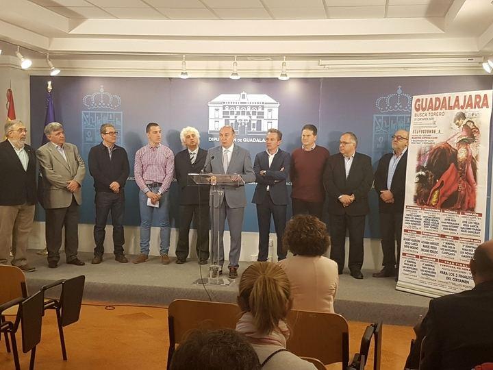 El III Certamen 'Guadalajara busca torero' se celebrará en 11 localidades desde el 29 de abril al 18 de septiembre