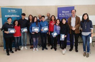 Seis alumnas y alumnos de la provincia de Guadalajara participarán en la fase regional del concurso escolar 'entreREDes'