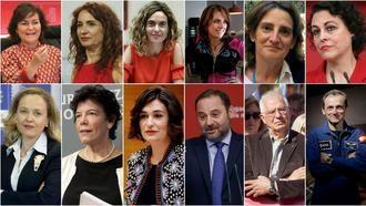 Todos los hombres y mujeres del Gobierno socialista de Pedro Sánchez, con Magdalena Valerio como ministra de Trabajo