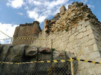 Comienzan las obras de conservación del castillo de Galve de Sorbe