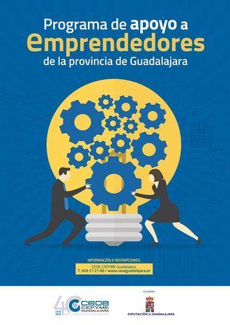 Comienza el Programa de Apoyo a Emprendedores de CEOE-Cepyme Guadalajara