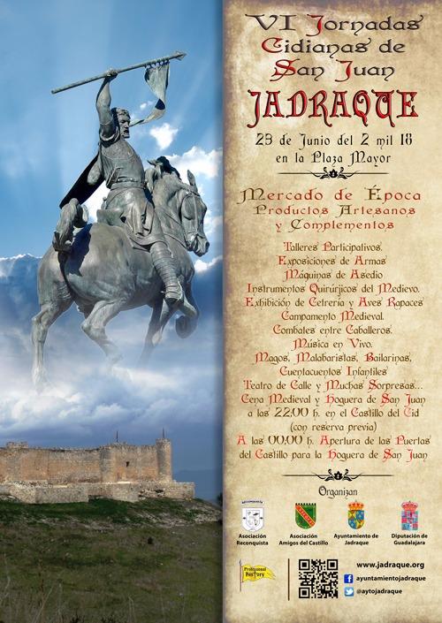 Jadraque celebra este próximo sábado su VI Jornada Cidiana