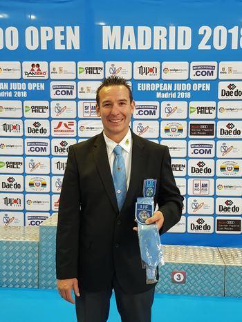 El alcarreño José A. Merino alcanza el top del arbitraje del judo mundial