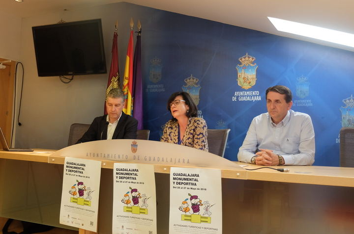 """""""Guadalajara Monumental y Deportiva"""" aúna deporte y patrimonio monumental con actividades para todos los públicos"""