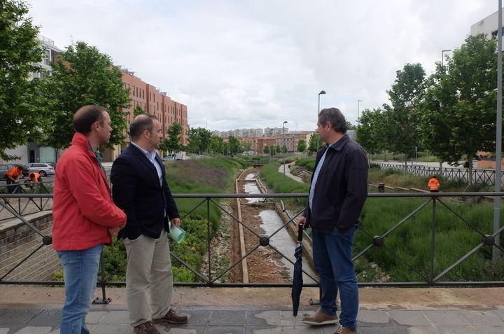 El Ayuntamiento de Guadalajara arreglará la lámina de agua del parque Juan Pablo II