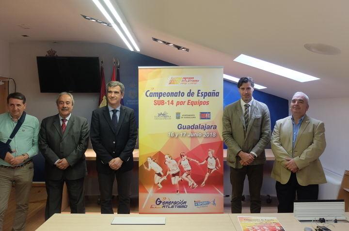 El futuro del atletismo español se da cita en Guadalajara entre el 16 y el 17 de junio