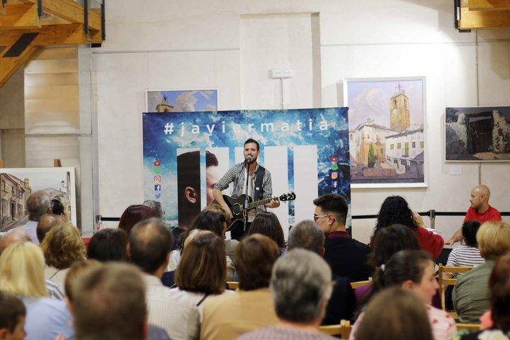 El compositor guadalajareño Javier Matía 'Entra en Batalla' con su primer disco