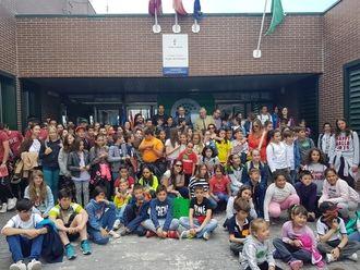 Seis centros escolares renuevan 'Bandera Verde' y uno la recibe por primera vez en el proyecto Ecoescuelas que promueve Diputación