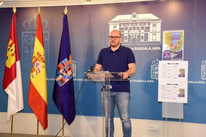 Once centros escolares participan desde este viernes en una nueva edición de Guadalajoven, organizada por la Diputación
