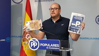 """""""Page no puede hablar de sanidad universal y cobrar 50 euros al mes por aparcar en el Hospital de Guadalajara"""""""