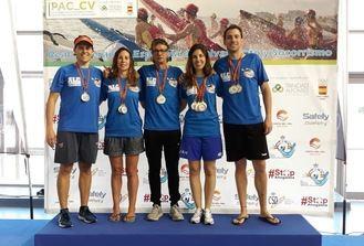 El Alcarreño de Natación, Campeón de España