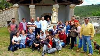 Cereceda peregrinó este fin de semana a la Ermita de la Virgen de La Montealeja
