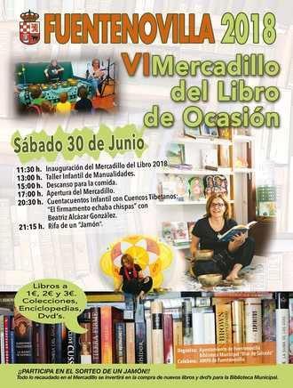 Este sábado, VI Mercadillo del Libro de Segunda Mano en Fuentenovilla