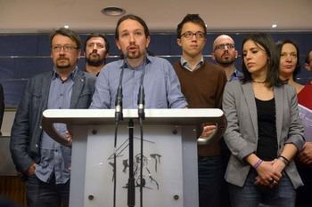 Cisma en Podemos