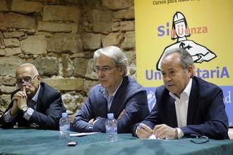 Antonio Fernández-Galiano analiza la 'Encrucijada de los medios de comunicación' en Sigüenza Universitaria