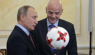 Putin ve a España entre las favoritas para ganar el Mundial...el sabrá por qué lo dice...