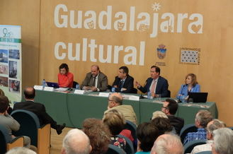 """Román: """"Esta central térmica de biomasa es coherente con las políticas que desde Guadalajara impulsamos para luchar contra el cambio climático"""""""