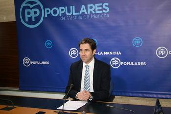 """Robisco: """"Esta legislatura está tan acabada y agotada como el Gobierno de Page con sus socios de Podemos"""""""