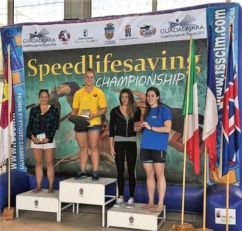 Zara Willians y Danielle Sanna, campeones del SpeedLifeSaving