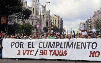 El Supremo da la razón al taxi y confirma el ratio 30 licencias de taxi por cada 1 VTC