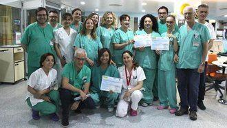 El Hospital de Albacete reconocido por disminuir infecciones en su UCI