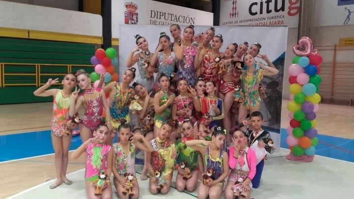 Más de 300 gimnastas participaron en la última fase del Circuito Provincial de Rítmica