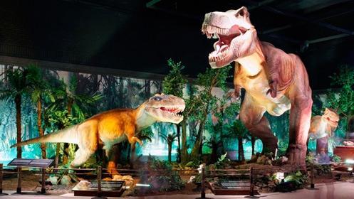 Dinosaurios animatrónicos a tamaño real 'invadirán' el Palacio Multiusos de Guadalajara