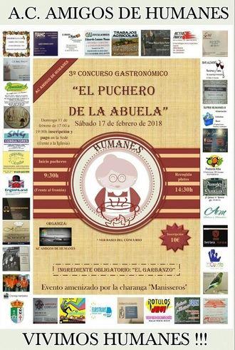 Tercera edición del concurso gastronómico 'El Puchero de la Abuela' en Humanes