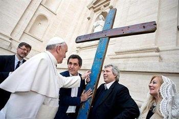 La Cruz de Lampedusa inicia una gira por la provincia de Guadalajara