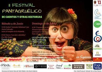 Este fin de semana, II Festival Pantagruélico de Cuentos y Otras Historias en Sigüenza