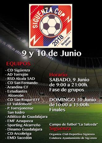 El Club Deportivo Sigüenza organiza este fin de semana el V Torneo Sigüenza Cup