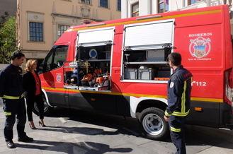 El Servicio de Extinción de Incendios de Guadalajara incorpora un nuevo vehículo para excarcelaciones