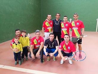El CD Yunquera se proclama campeón de la Liga de Frontenis de Guadalajara
