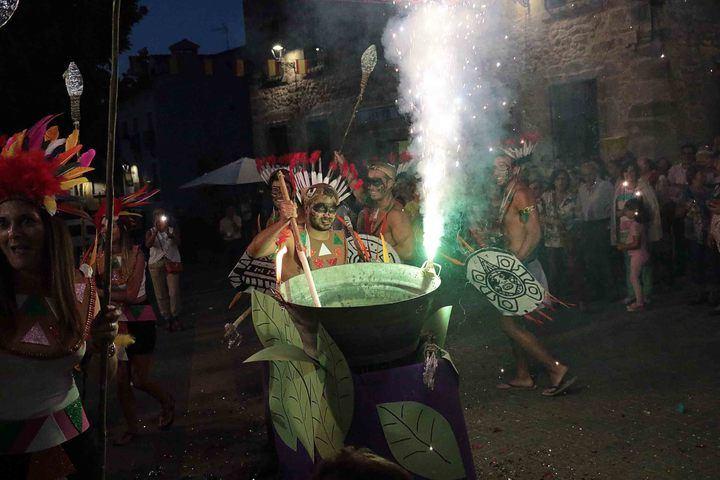 Pareja comienza sus Fiestas 2018