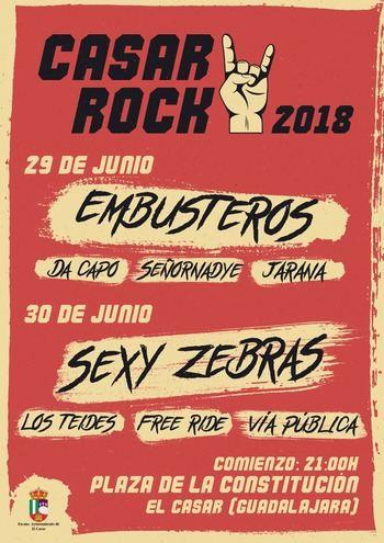 Casar Rock, una importante cita con la música para cerrar la 'Primavera Cultural' el último fin de semana junio