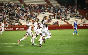 El Alba muestra maneras ante uno de los favoritos al ascenso, el Deportivo de La Coruña