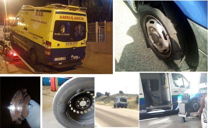 """""""A los guadalajareños nos montan en las ambulancias más viejas de España"""""""