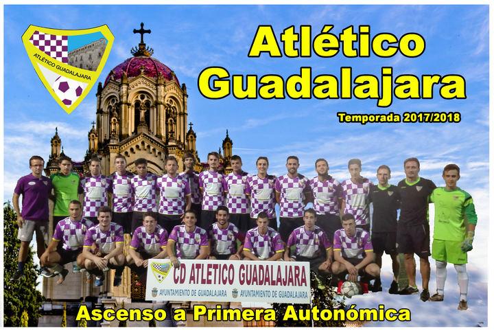 El Atletico Guadalajara asciende a Primera Autonómica