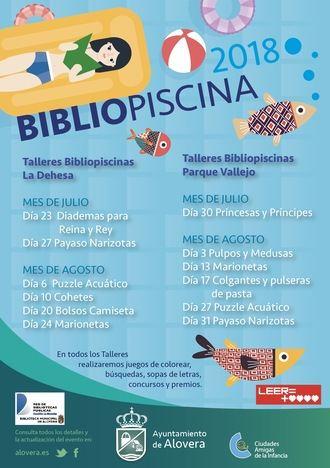 Este verano refréscate con las Bibliopiscinas de Alovera