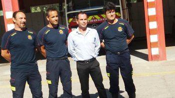 Los bomberos de Talavera denuncian la falta de medios humanos y materiales
