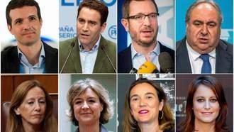 Estos son los hombres y mujeres de Pablo Casado en el Comité Ejecutivo del Partido Popular de España