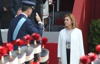 Felipe VI concede la Gran Cruz de la Real y Distinguida Orden Española de Carlos III a María Dolores Cospedal