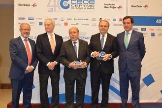 Homenaje a personas, empresas e instituciones desde CEOE-Cepyme en su 40ª Asamblea General