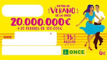 El Cupón de la ONCE deja un premio de 100.000 euros en la provincia de Toledo