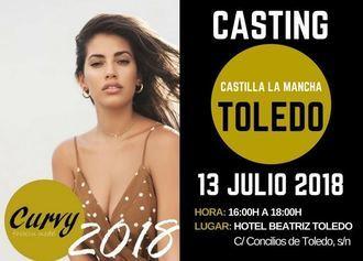 El 13 de julio el Certamen de Modelos Curvy Fashion Model realizará un casting en Toledo
