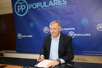 """Cañizares denuncia """"la inactividad del Gobierno de Page y su falta de proyecto por estar completamente entregado a Podemos"""""""
